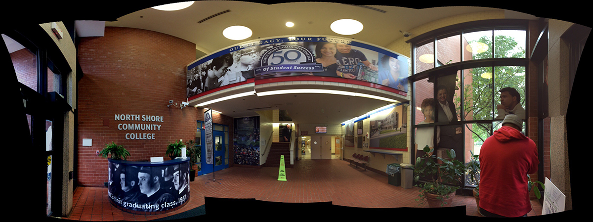 Old Lynn campus East lobby